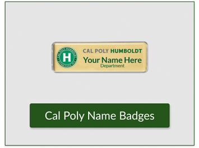 hsu branded name badges