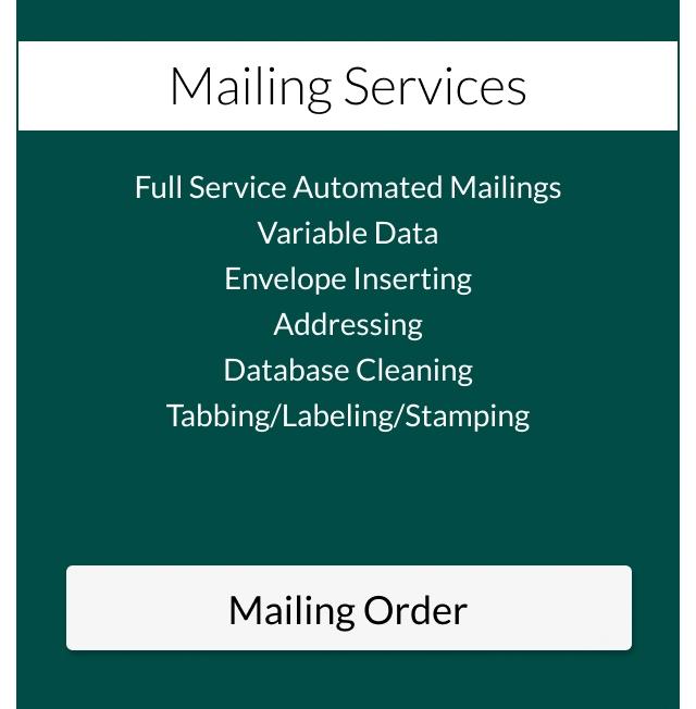 mailing order